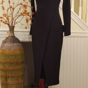 Zara Dresses - ZARA | NWT Black Bodycon Midi Dress